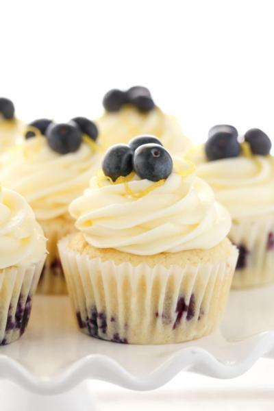 Lemon Blueberry Cupcake - Single