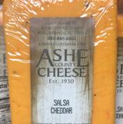 Ashe County Cheese - Salsa Cheddar