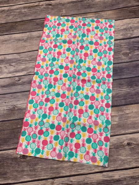 Buff/Gaiter Scarf (Pink Pineapples)