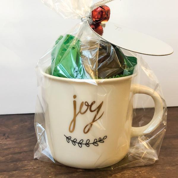 Hot Cocoa Bomb Mug Gift Set - JOY