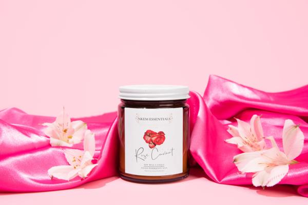 Rose Currant Eco-Friendly Candle