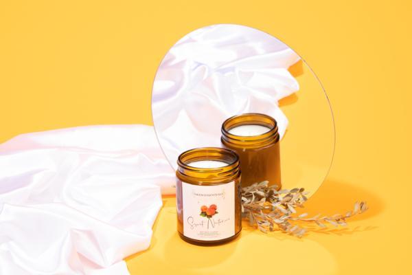 Sweet Nectarine Eco-Friendly Candle