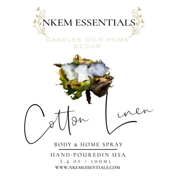 Cotton Linen Body & Home Spray