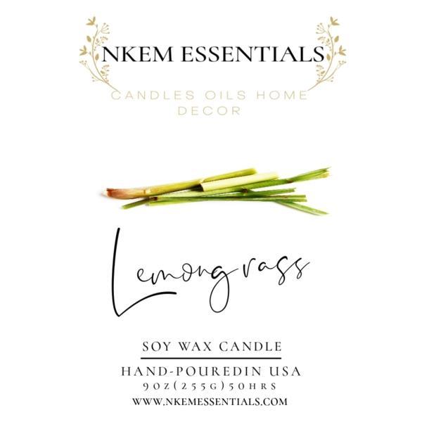 Lemongrass Eco-Friendly Candle!