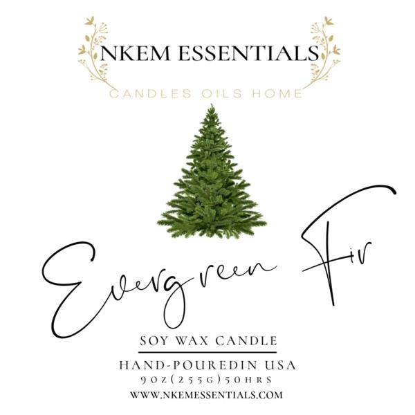 Evergreen Fir Eco-Friendly Candle