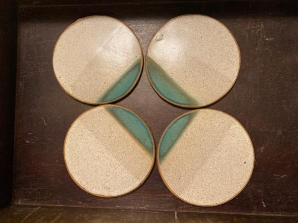 Turquoise Dipped Coasters