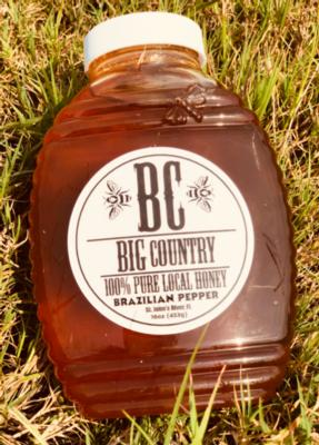 Honey (Local Brazilian Pepper)