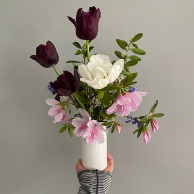 xAdd On | Small White Vase