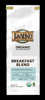 Breakfast Blend Organic - $13.99