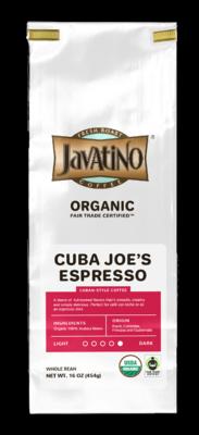 Cuba Joe's Espresso Organic - $14.99