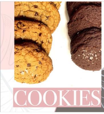 Crinkle Brownie Cookies