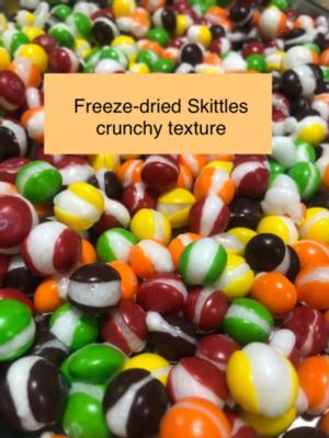 Freeze-dried Skittles - 5oz bag