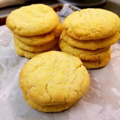 Lemon Sugar Cookies 1/2 dozen