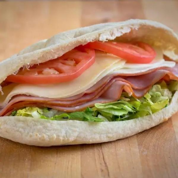 Ham & Provolone Pita Sandwich