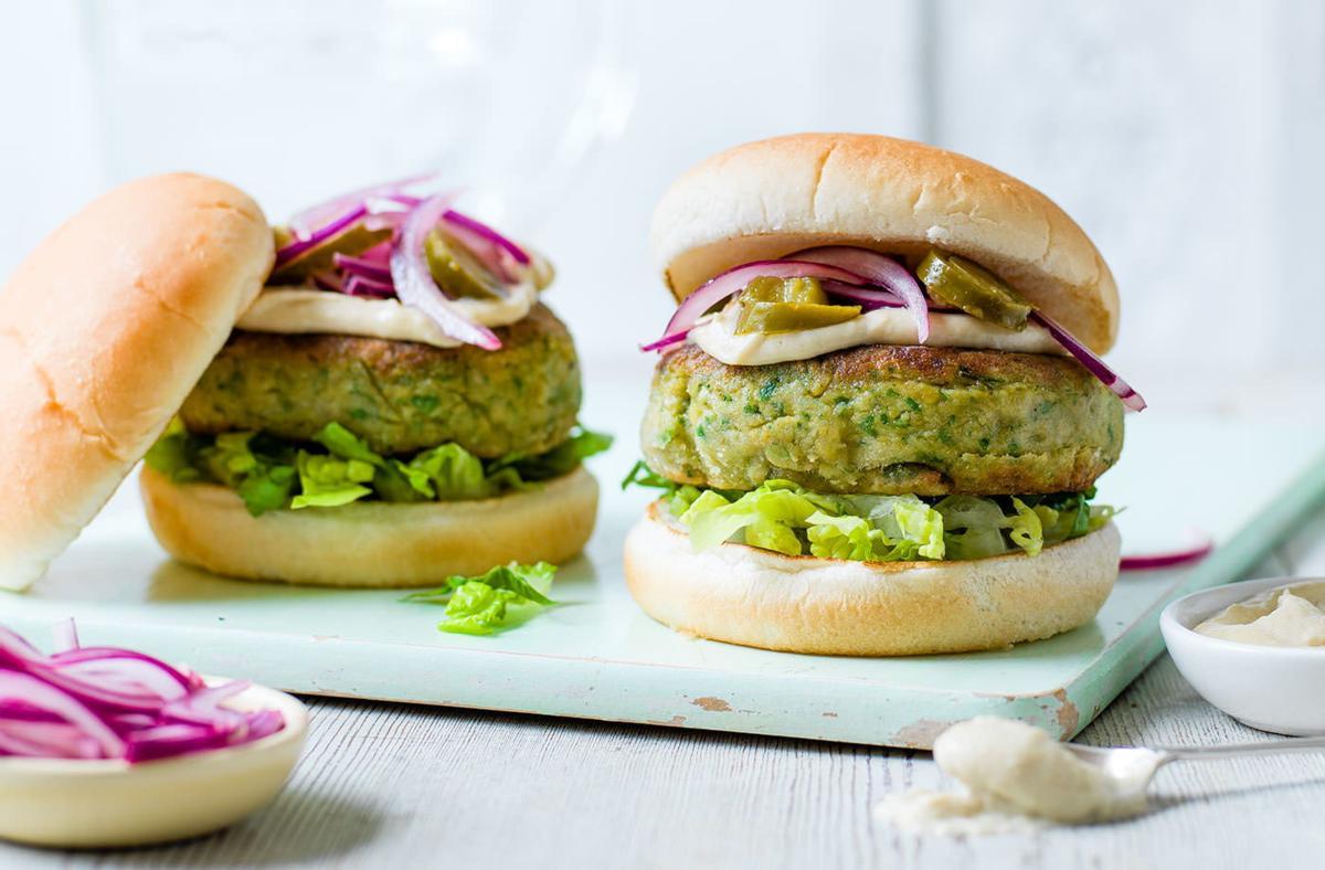 Falafel Veggie Burger Mix
