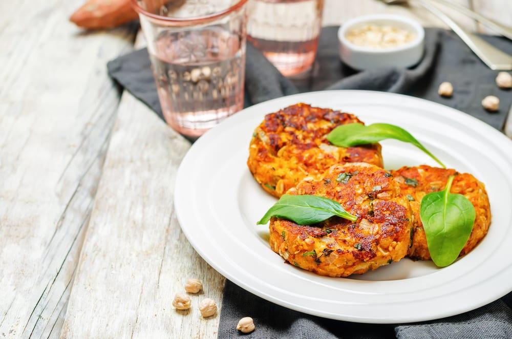 Sweet Potato & Spinach Veggie Burger Mix