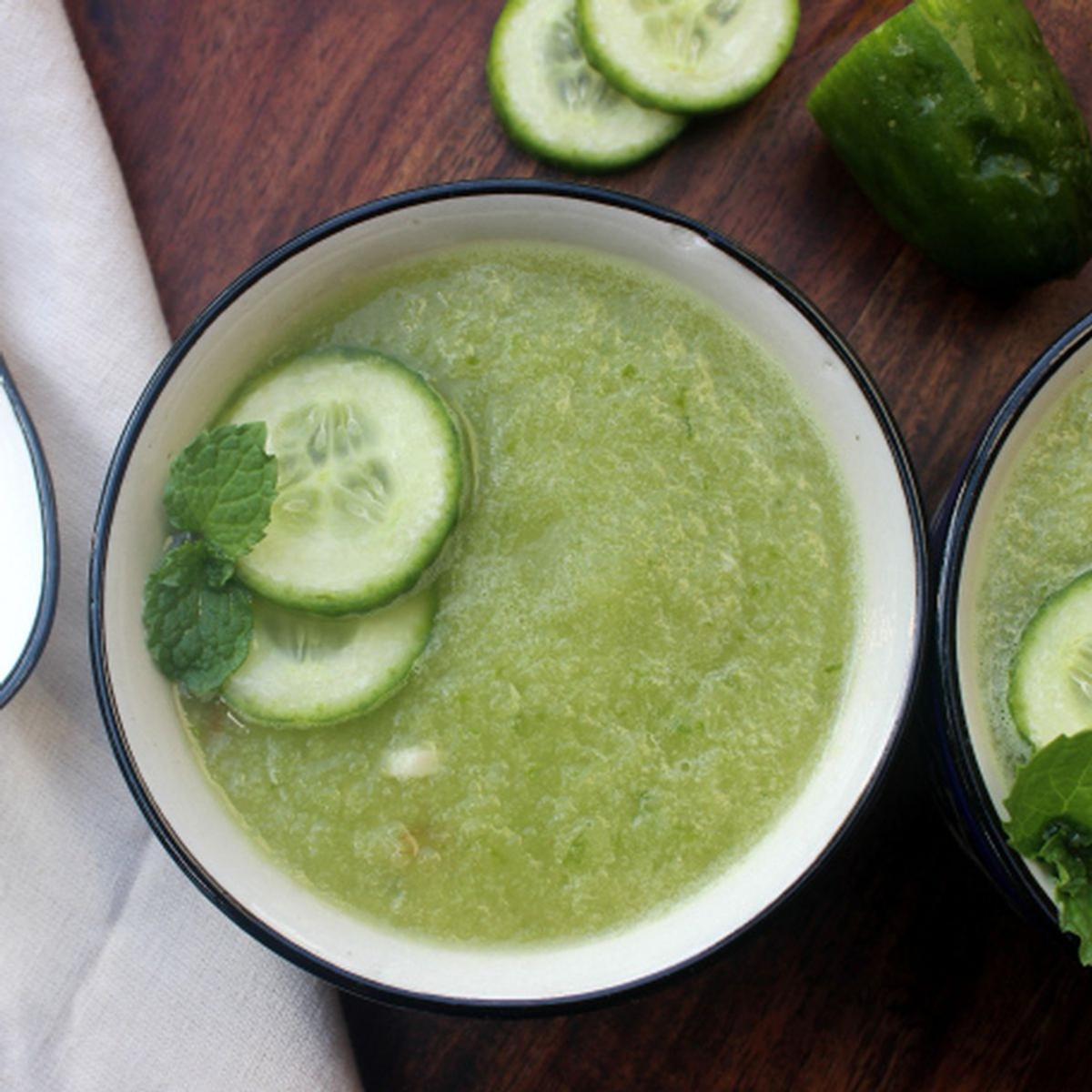 Cucumber Mint Gazpacho