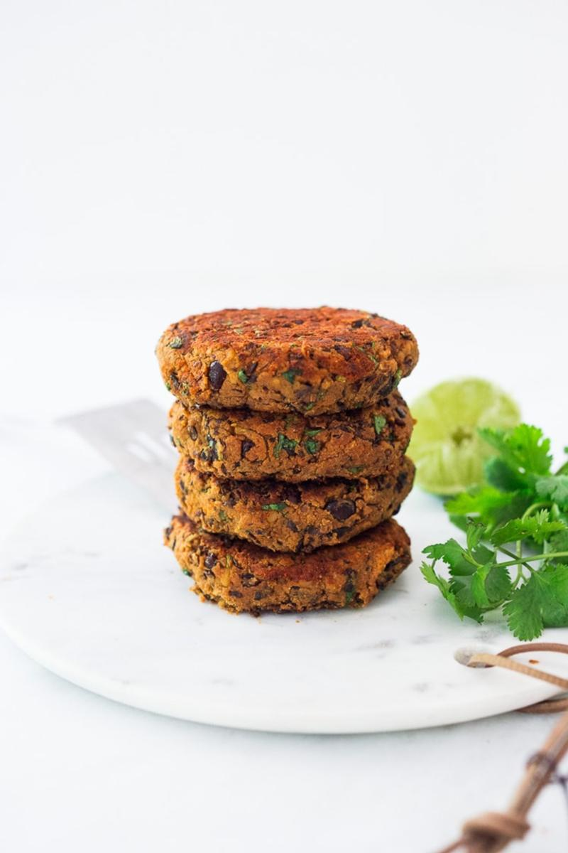 Spicy Chipotle Black Bean Veggie Burger Mix