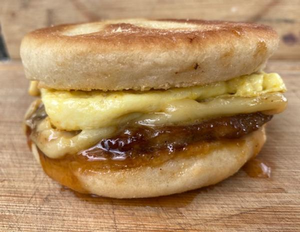 Original Hog Haven Breakfast Sandwich