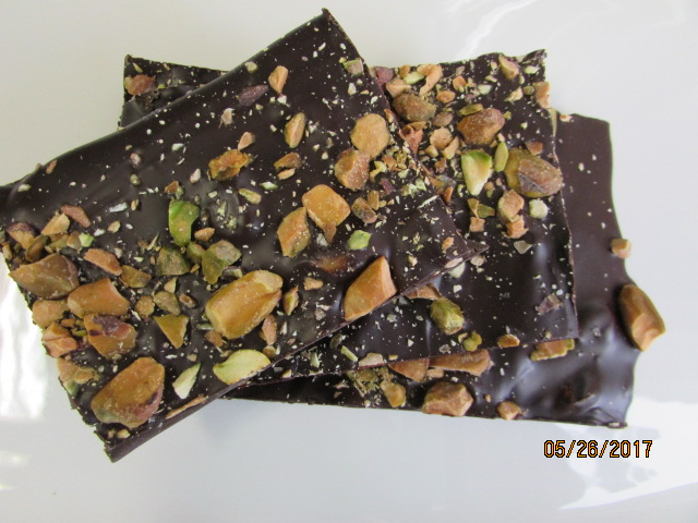 Dark Chocolate Bark - Pistachio & Cranberry