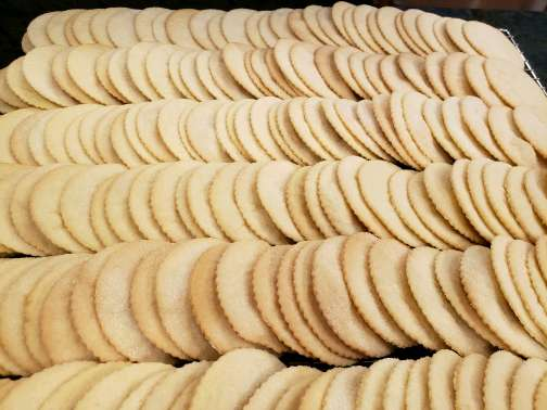 Ella's Sugar Cookies (10) cookies