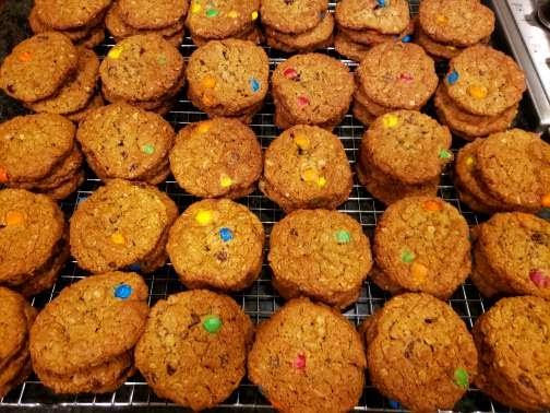 Monster Cookies (6) cookies [no flour]