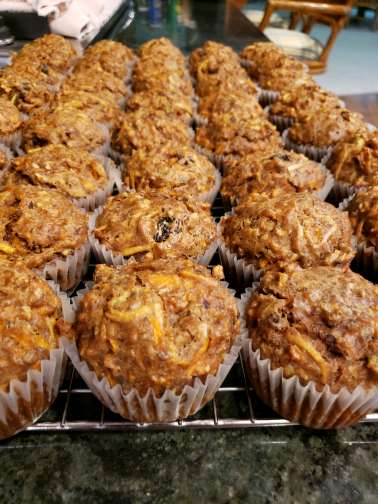 Morning Glory Muffin - Reduced Sugar