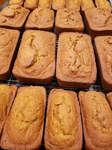 Pumpkin Spice Bread Demi Size