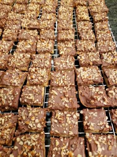 Toffee Bars (12) Cookies