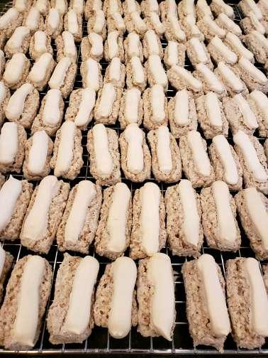 Vanilla Sticks (10) Cookies - (gluten free)