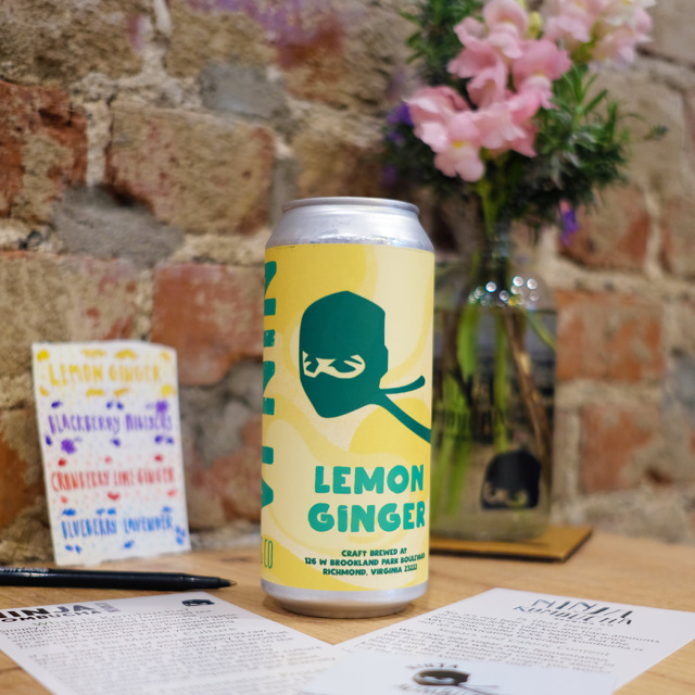 Lemon Ginger 4-pack