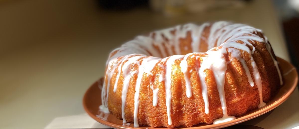Chef's Glazed Lemon Pound Cake
