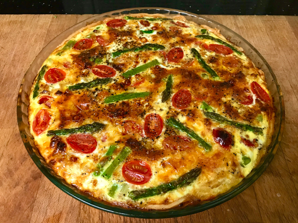 Vegetable Quiche 4.7