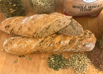 Baguette WholeGrain with Seeds