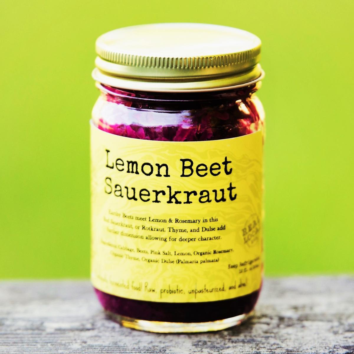 Sauerkraut: Lemon Beet
