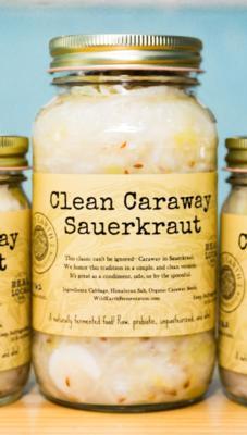 Clean Caraway Sauerkraut (Large)