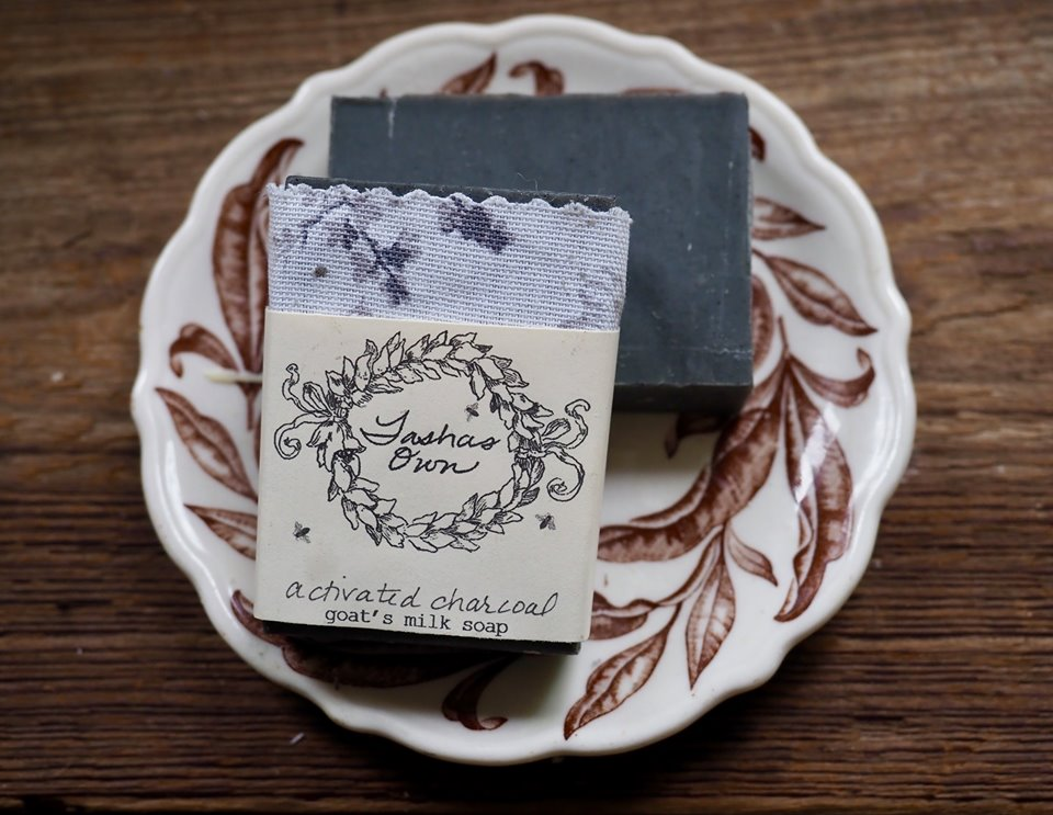 Goats Milk Soap - Activated Charcoal