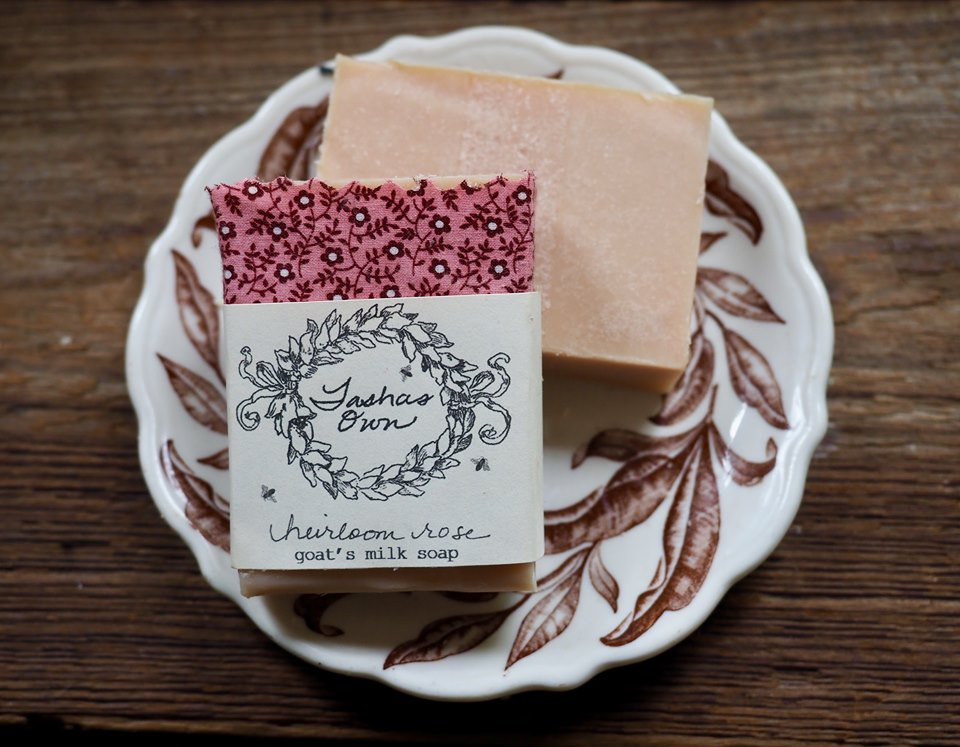 Goats Milk Soap - Heirloom Rose
