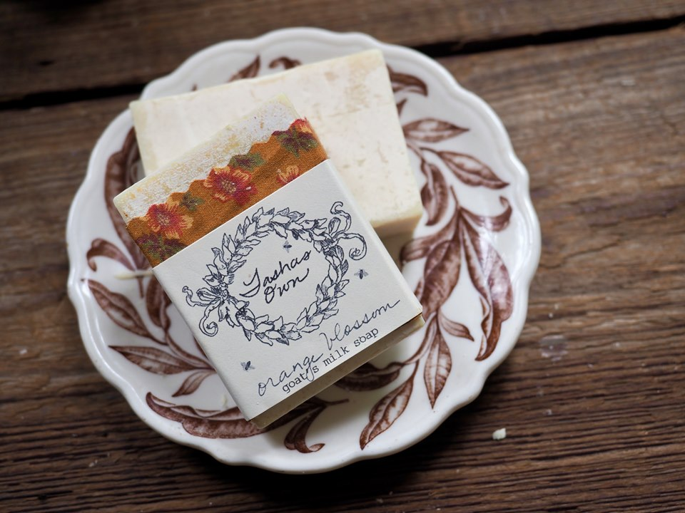 Goats Milk Soap - Orange Blossom