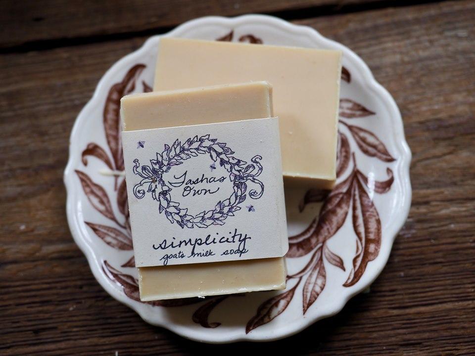 Goats Milk Soap - Simplicity