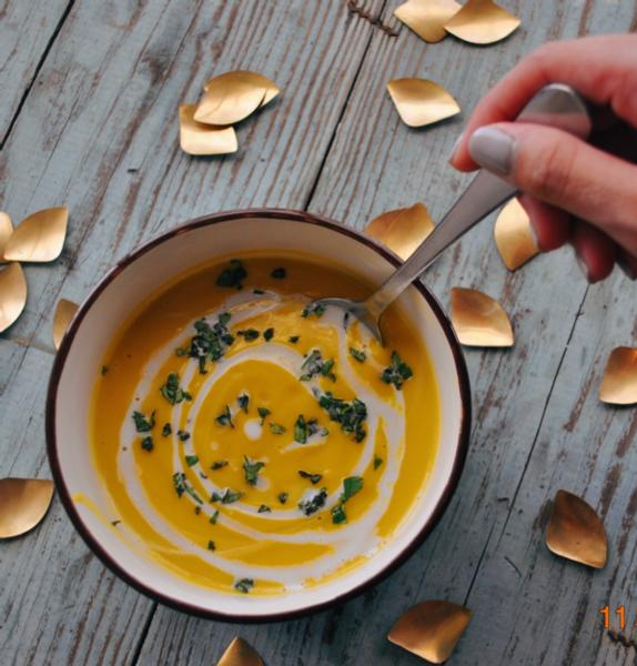 Free to be Hearty - Butternut Soup