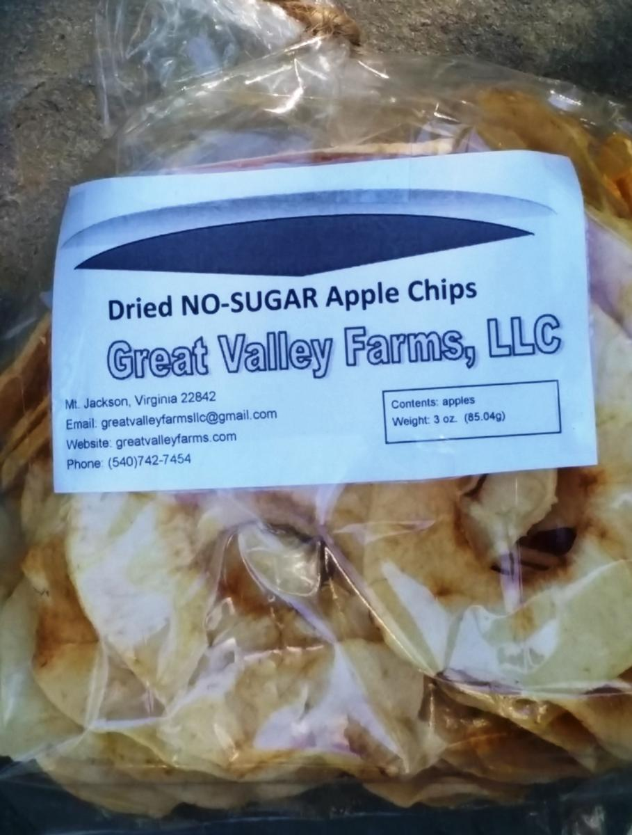Apple Chips No Sugar (3 oz.)