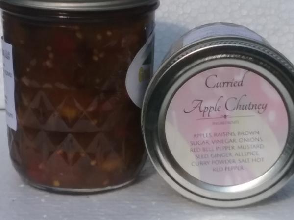 Curried Apple Chutney (16 oz.)