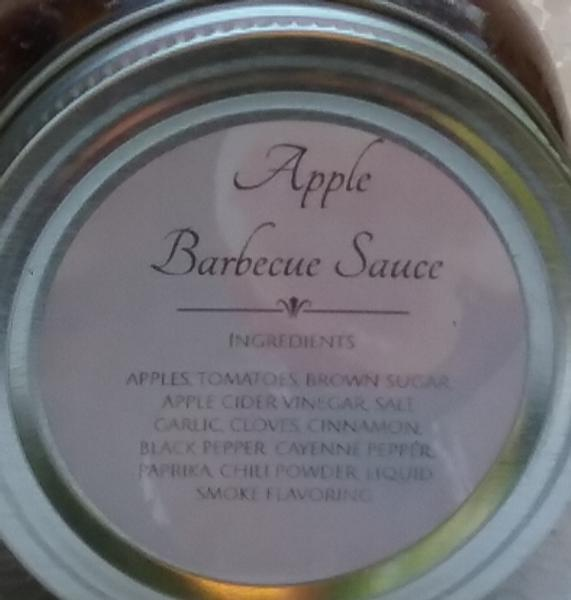 Apple Barbecue Sauce (16 oz.)