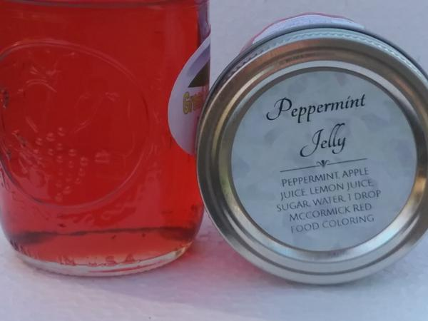 Peppermint Jelly (8 oz.)