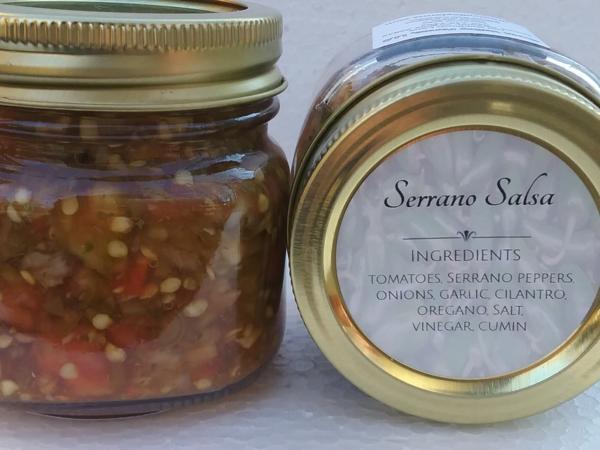 Serrano Salsa (8 oz.)