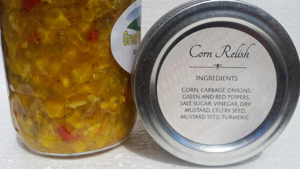 Corn Relish (8 oz.)